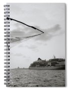 Cruising Into Cochin Spiral Notebook