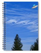 Cruising Over Spokane Spiral Notebook