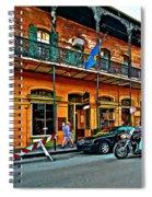 Cruising The Quarter Spiral Notebook