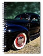 Cruising The Theater Spiral Notebook