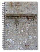 Crumbling Wall 1 Spiral Notebook