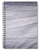 Crumpled Cotton Spiral Notebook