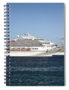 Cruse Ships At Anchor Spiral Notebook
