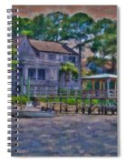 Crusing The Icw At Sullivan's Island Sc Spiral Notebook