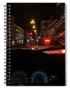 Cruzin The Plaza Spiral Notebook