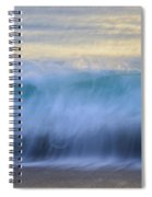 Crying Waves Spiral Notebook