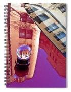 Crystal Ball Project 60 Spiral Notebook