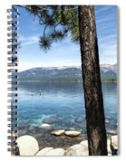 Crystal Bay Spiral Notebook