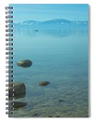 Crystal Clear Lake Tahoe Spiral Notebook