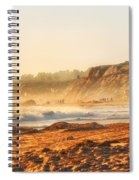 Crystal Cove At Sunset 1 Spiral Notebook