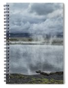 Crystal Crane Hot Springs Spiral Notebook