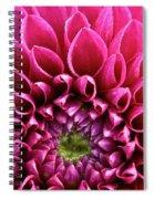 Crystal Edges Spiral Notebook
