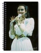 Crystal Gayle Spiral Notebook