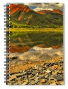 Crystal Lake Reflections Spiral Notebook