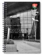 Crystal Rose Spiral Notebook