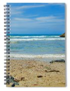 Crystal Waters - Port Macquarie Beach Spiral Notebook