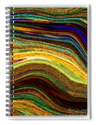 Crystal Waves Abstract 2 Spiral Notebook