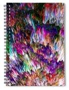 Crystalline Crimsonicity Spiral Notebook