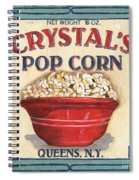 Crystal's Popcorn Spiral Notebook