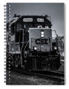 Csx 2668 Spiral Notebook