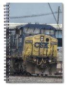 Csx 7745 Engine 01 Spiral Notebook