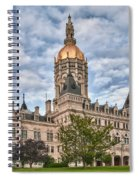 Ct State Capitol Building Spiral Notebook