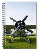 Polikarpov Po-2 Spiral Notebook