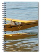 Cub On Floats Spiral Notebook