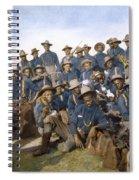 Cuba - Tenth Cavalry 1898 Spiral Notebook