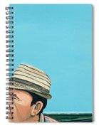 Cuban Portrait #8, 1996 Spiral Notebook