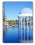 Cuban Resort Spiral Notebook