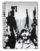 Cuban Revolution Painted On A Wall Spiral Notebook