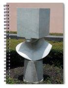 Cube Head Spiral Notebook