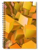 Cubist Melon Burst By Jammer Spiral Notebook