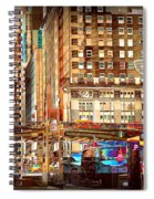 Grand Central And 42nd St Spiral Notebook