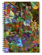 Night Market - Outdoor Markets Of New York City Spiral Notebook