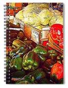 Cucumber 79 Cents Spiral Notebook