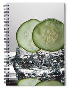 Cucumber Freshsplash Spiral Notebook