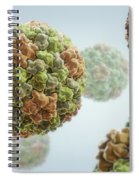 Cucumber Mosaic Virus Spiral Notebook