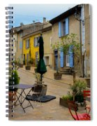 Cucuron In Provence Spiral Notebook