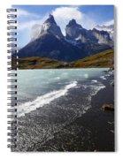 Cuernos Del Paine Patagonia 3 Spiral Notebook