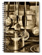 Cuisine At Chenonceau Spiral Notebook