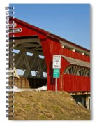 Culbertson Or Treacle Creek Covered Bridge Spiral Notebook