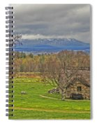 Culloden Moor And Old Leanarch Spiral Notebook