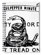 Culpepper Minutemen Spiral Notebook
