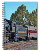 Cumberland Maryland Train Station Spiral Notebook