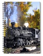 Cumbres And Toltec Railroad Spiral Notebook