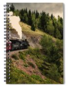 Cumbres And Toltec Train Co And Hm Spiral Notebook