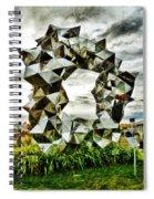 Cumulus Gate Pavilion For Richard Pearse By Gregor Kregar Spiral Notebook