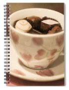 Cup Of Chocolate Spiral Notebook